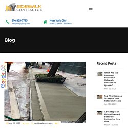 What Are the Common Reasons of Sidewalk Violation in Queens