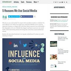 5 Reasons We Use Social Media