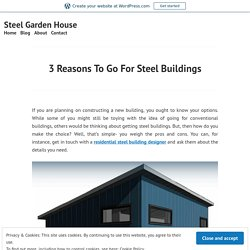 Get In Touch With A Residential Steel Building Designer
