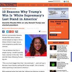 White Supremacy's Last Stand in America