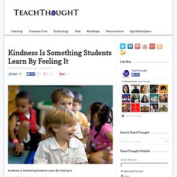 8 Reasons For Teaching Kindness In School