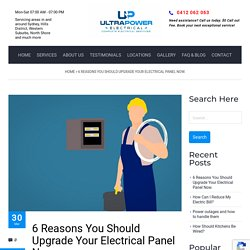 6 Reasons You Should Upgrade Your Electrical Panel Now