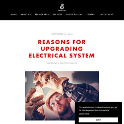 Reasons for Upgrading Electrical System