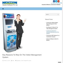 Benefits Of Visitor Management System