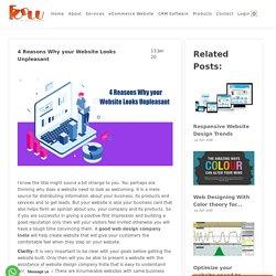 4 Reasons Why your Website Looks Unpleasant - FODUU Blog