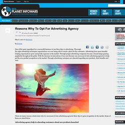 Reasons Why To Opt For Advertising Agency