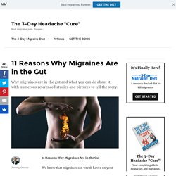 11 Reasons Why Migraines Are in the Gut