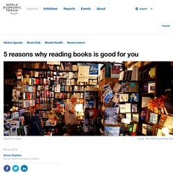 5 reasons why reading books is good for you