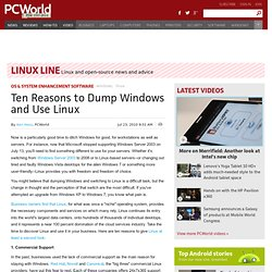 Ten Reasons to Dump Windows and Use Linux - PCWorld Business Center