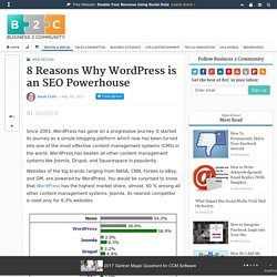 8 Reasons Why WordPress is an SEO Powerhouse