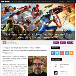 Avengers reassembled: How Gazillion rescued the struggling Marvel Heroes MMO