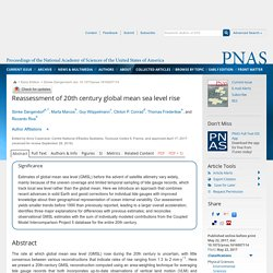 Reassessment of 20th century global mean sea level rise