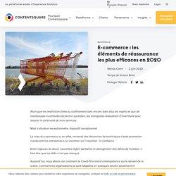 E-commerce : les éléments de réassurance les plus efficaces en 2020