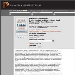 Pettis, M.: The Great Rebalancing: Trade, Conflict, and the Perilous Road A