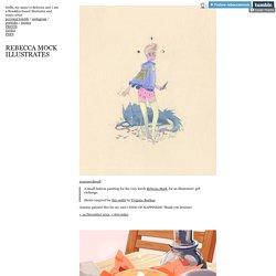 Rebecca Mock Illustrates