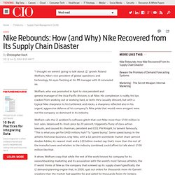 Nike Rebounds: How (and Why) Nike Recovered from Its Supply Chain Disaster