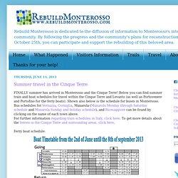 RECONSTRUIR MONTEROSSO!