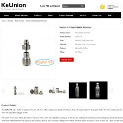 Kayfun V5 Rebuildable Atomizer for sale - Bestrtavape