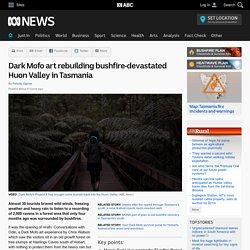 Dark Mofo art rebuilding bushfire-devastated Huon Valley in Tasmania