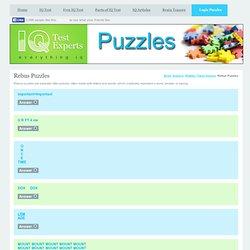 Rebus Puzzles - IQ Test Experts