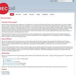 REC:all Project - REC:all