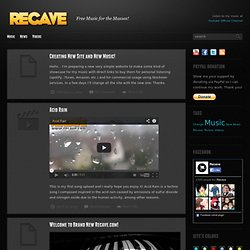 Recave Blog: Web Design, Illustration, Photography, Graphics, Videos, Cool Products, Digital Design Inspiration