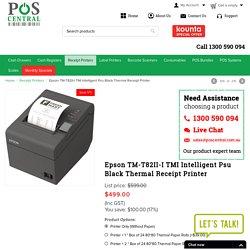 Epson TM-T82II-I TMI Intelligent Psu Black Thermal Receipt Printer