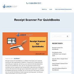Receipt Scanner For QuickBooks