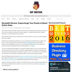 Receiptful Review: Supercharge Your Emails to Boost Online Sales