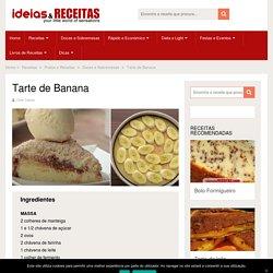 Receita de Tarte de Banana