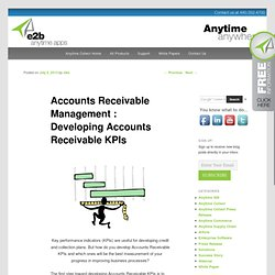 Accounts Receivable Management : Developing Accounts Receivable KPIse2banytime Blog