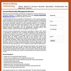 Account Receivables Management Services