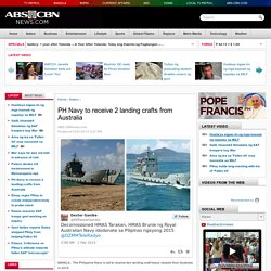 PH Navy to receive 2 landing crafts from Australia