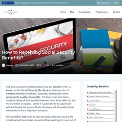 How to Receiving Social Security Benefits