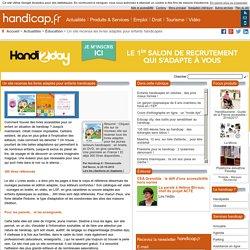 Un site recense les livres adaptés pour enfants handicapés - Éducation (5375)