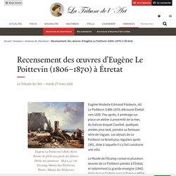 Recensement des œuvres d'Eugène Le Poittevin (1806–1870) à Étretat