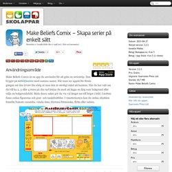 Recension av Make Beliefs Comix - Skapa serier på enkelt sätt