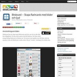 Recension av Bitsboard - Skapa flashcards med bilder och ljud