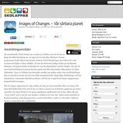 Recension av Images of Changes - Vår sårbara planet