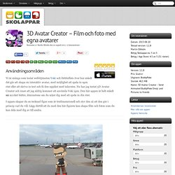 Recension av 3D Avatar Creator - Film och foto med egna avatarer