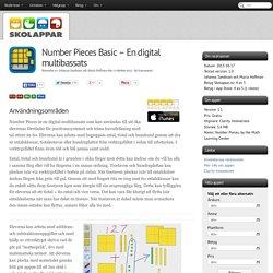Recension av Number Pieces Basic - En digital multibassats
