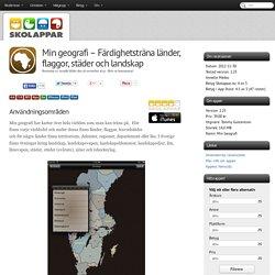 Recension av Min geografi - Färdighetsträna länder, flaggor, städer och landskap
