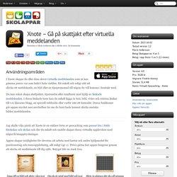 Recension av Xnote - Gå på skattjakt efter virtuella meddelanden