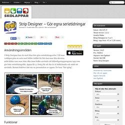 Recension av Strip Designer - Gör egna serietidningar