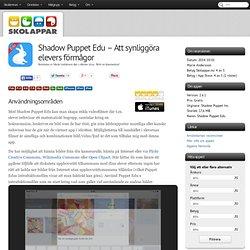 Recension av Shadow Puppet Edu - Att synliggöra elevers förmågor