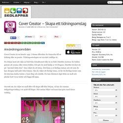 Recension av Cover Creator - Skapa ett tidningsomslag