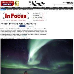 Recent Scenes from Antarctica - Alan Taylor - In Focus