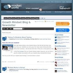 Recent blog posts - Growth Mindset Blog & Newsletter