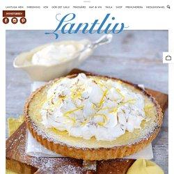 Recept: Citron- och marängpaj