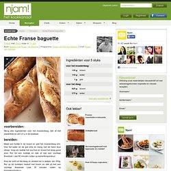 Recept voor echte franse baguette